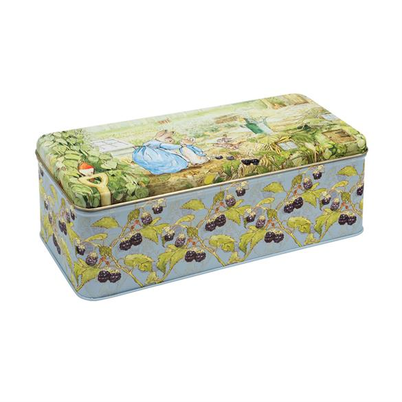 Beatrix Potter Peter Rabbit Large Rectangular Tin