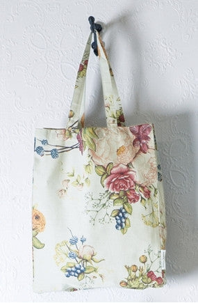 Bianca Lorenne Bouquet Duck Egg Tote Bag