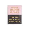 Ban.do Compliment Card Set - You're Straight Up Magic/You Are Gold