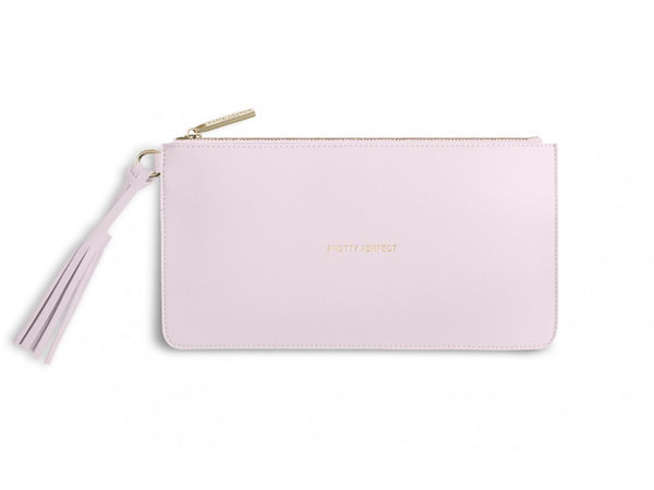Katie Loxton Florrie Tassel Pouch - Pretty Perfect (Powder Pink)