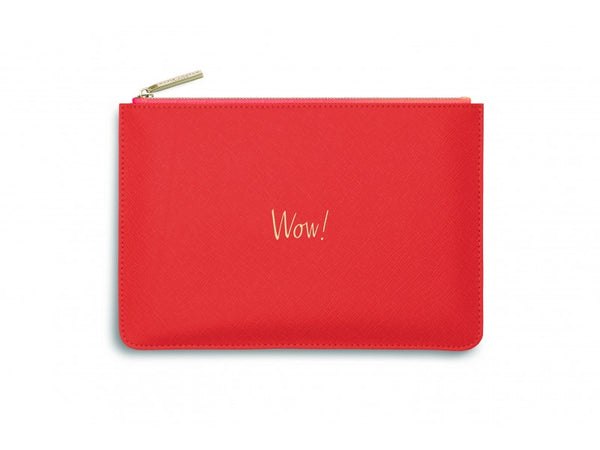 Katie Loxton Perfect Pouch - Wow! (Orange)