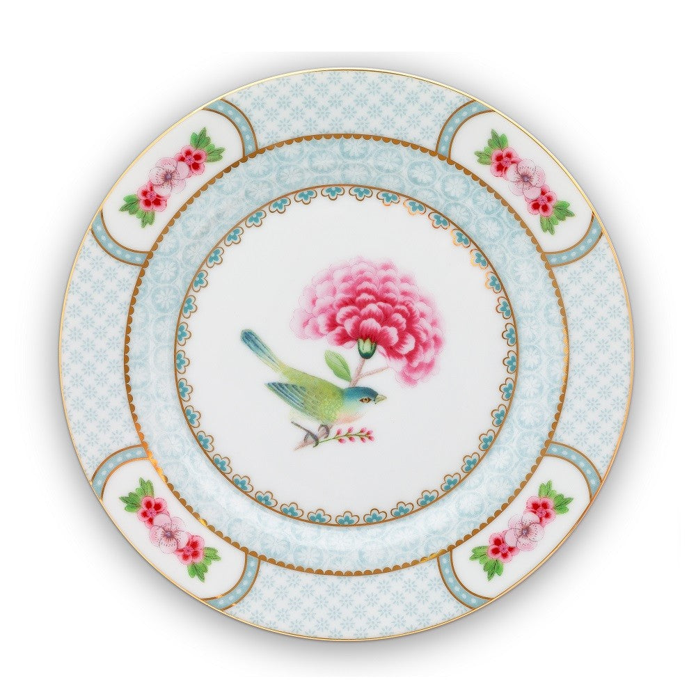 Pip Studio Blushing Birds 17cm Plate - White