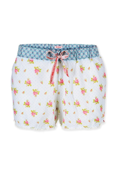 PiP Studio Babs Roses & Dots Shorts - White