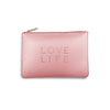 Katie Loxton Polka Dot Pouch - Love Life (Pink)
