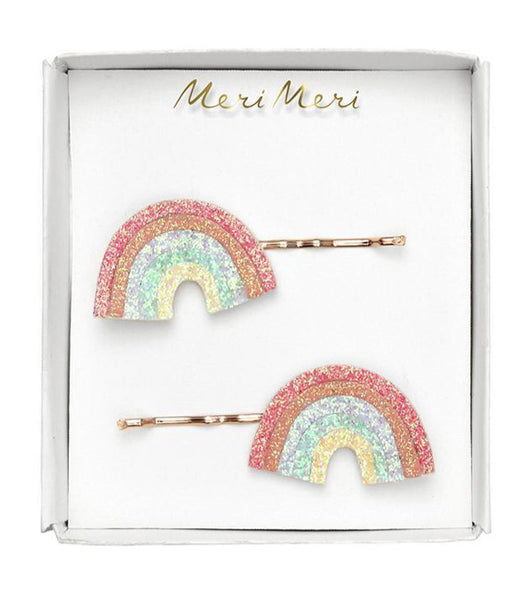 Meri Meri Glitter Rainbow Hair Slides