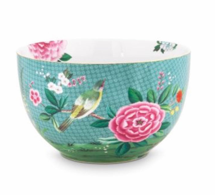Pip Studio Blushing Birds Bowl 23 cm - Blue