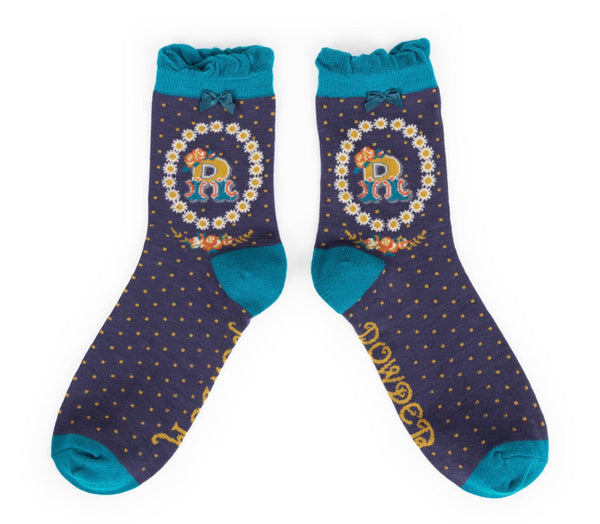Powder A-Z Socks - R