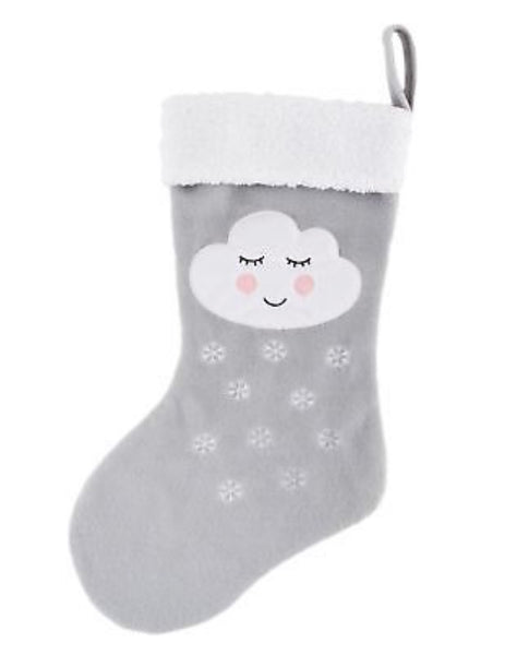Sass & Belle Snowdrop Cloud Stocking