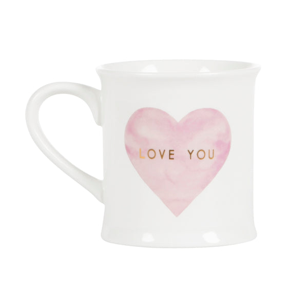 Sass & Belle Pastel Love You Mug