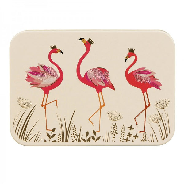 Sara Miller Flamingo Pocket Tin