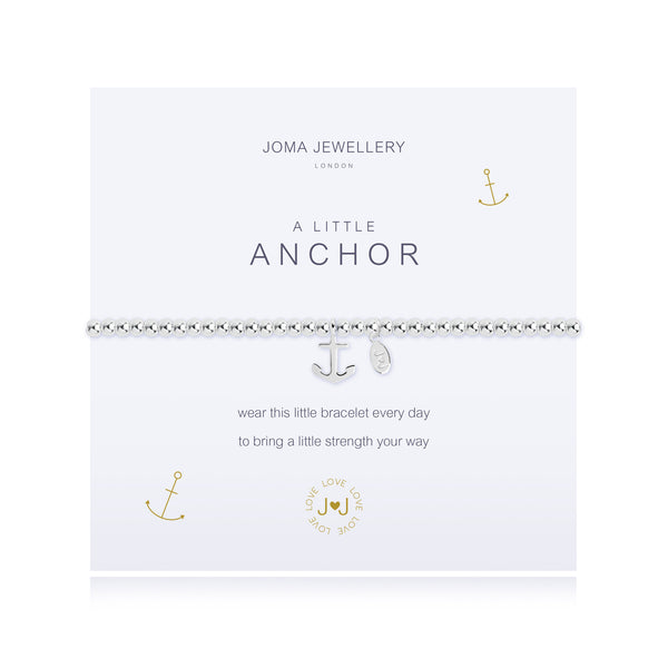 Joma Jewellery A Little Anchor Bracelet