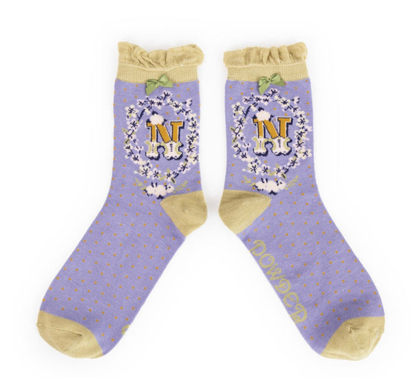 Powder A-Z Socks - N
