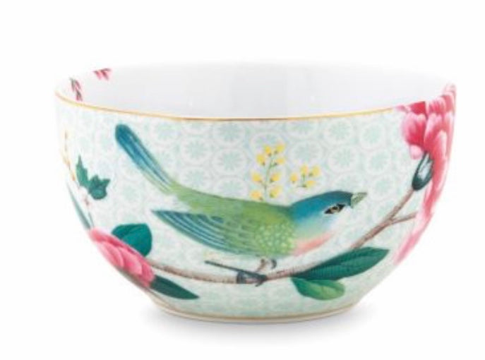 Pip Studio Blushing Birds Bowl 12 cm - White