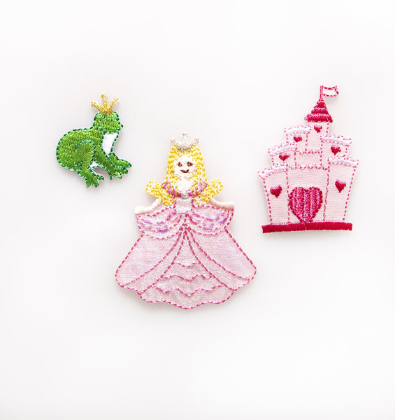 Sass & Belle Embroidered Applique Iron On - Princess Story