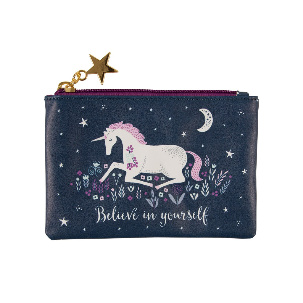 Sass & Belle Starlight Unicorn Coin Purse