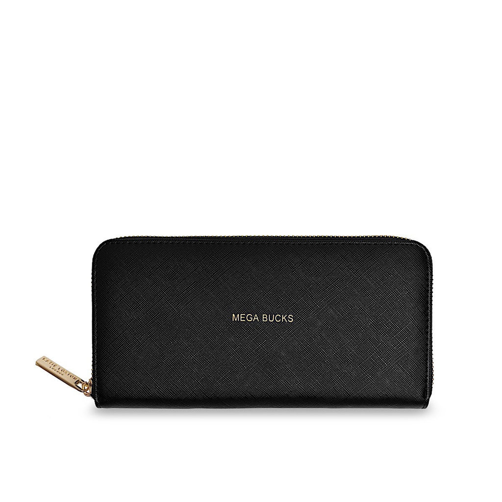 Katie Loxton Large Purse - Mega Bucks (Black)
