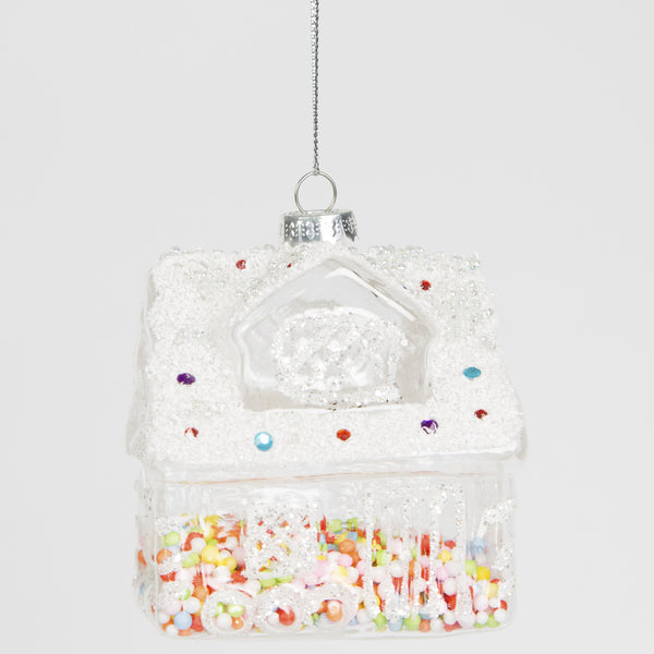 Sass & Belle Candy House Tree Decoration