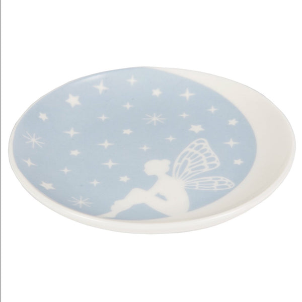 Sass & Belle Fairy on Crescent Moon Jewellery/Trinket Dish
