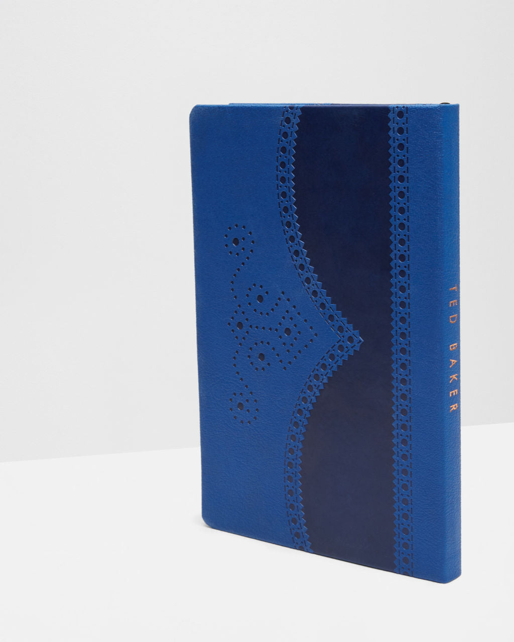 f237534ca89379 Ted Baker Blue Brogue A5 Notebook – The Lovely Room