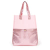 Ban.do Peekaboo Tote Bag - Metallic Pink Shimmer