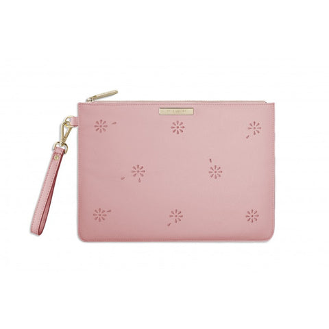 Katie Loxton Beautiful Blossom Pouch - Pink