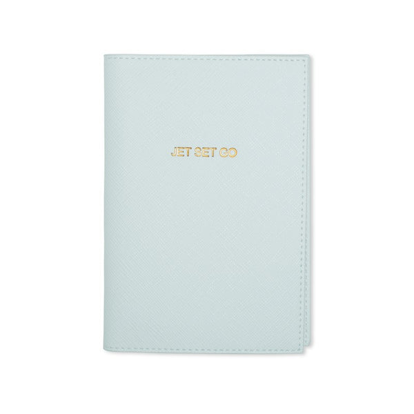 Katie Loxton Jet Set Go Passport Holder - Blue