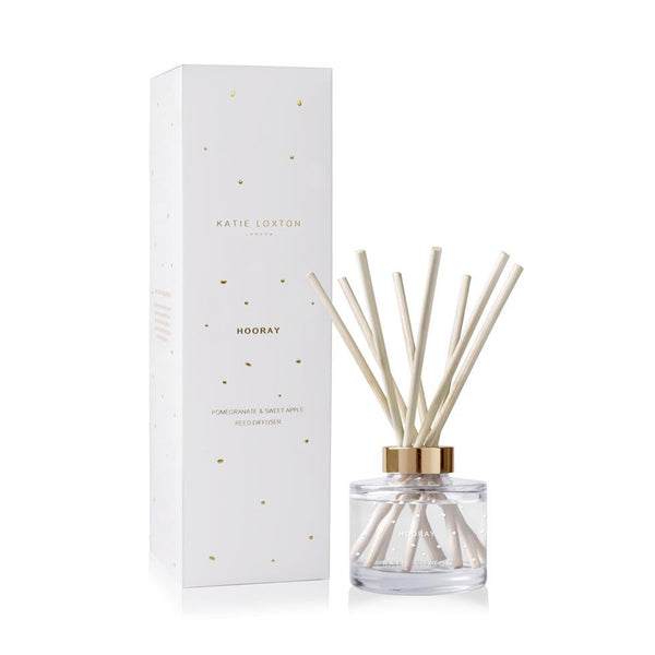 Katie Loxton Bee Happy Reed Diffuser - Grapefruit & Pink Peony