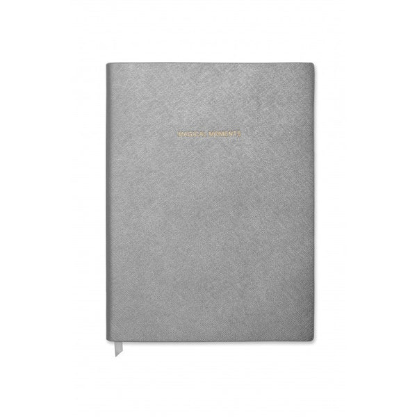 Katie Loxton Magical Moments Large Notebook - Gunmetal Grey