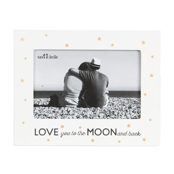 Sass & Belle Love You to the Moon and Back Photo Frame