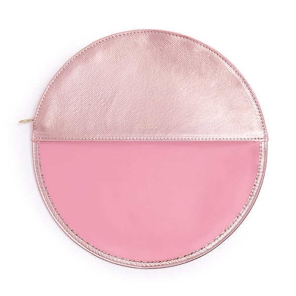 Ban.do Peekaboo Circle Clutch - Pink Shimmer
