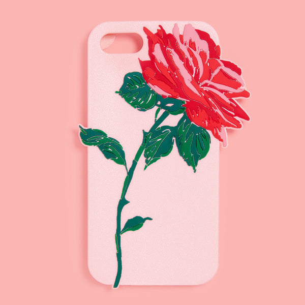 Ban.do Silicone iPhone 7 Case - Will You Accept This Rose?