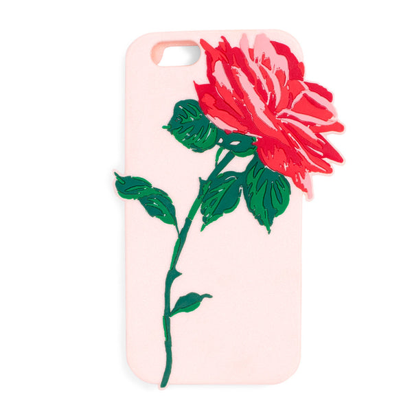 Ban.do Silicone iPhone 6/6s Case - Will You Accept This Rose?