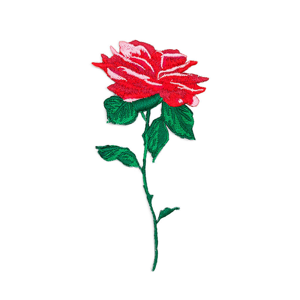Ban.do Iron On Patch - Will You Accept This Rose?