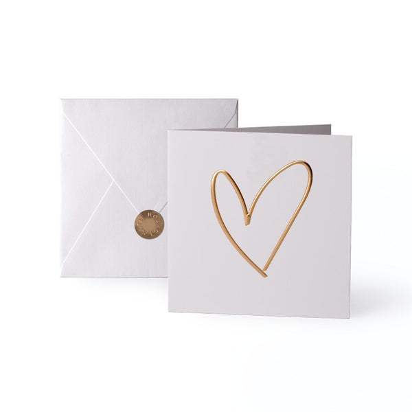Katie Loxton Greetings Card - Heart