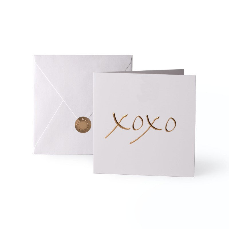 Katie Loxton Greetings Card - XOXO