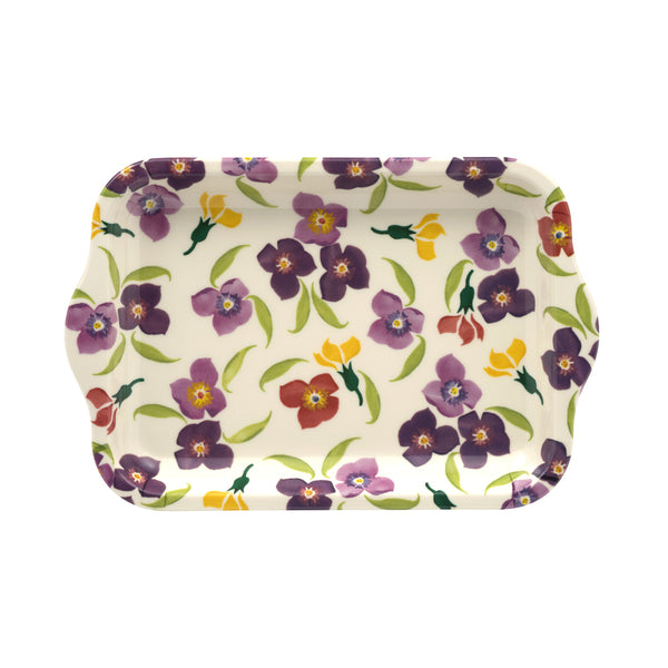 Emma Bridgewater Wallflower Small Melamine Tray
