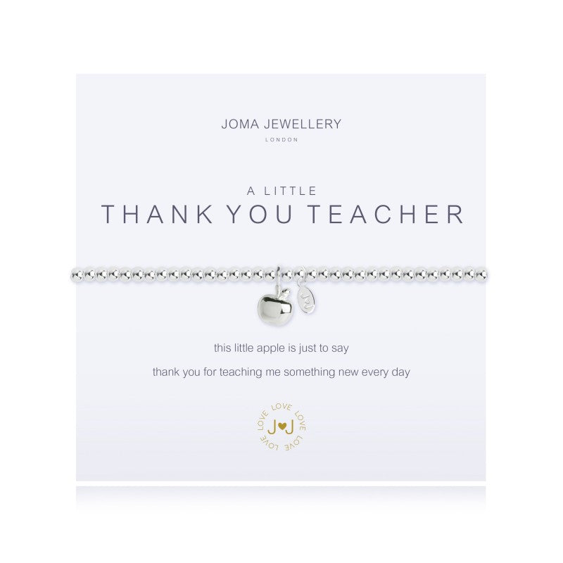 Joma Jewellery A Little Thank You Teacher Bracelet