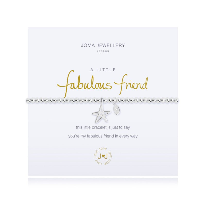 Joma Jewellery A Little Fabulous Friend Bracelet