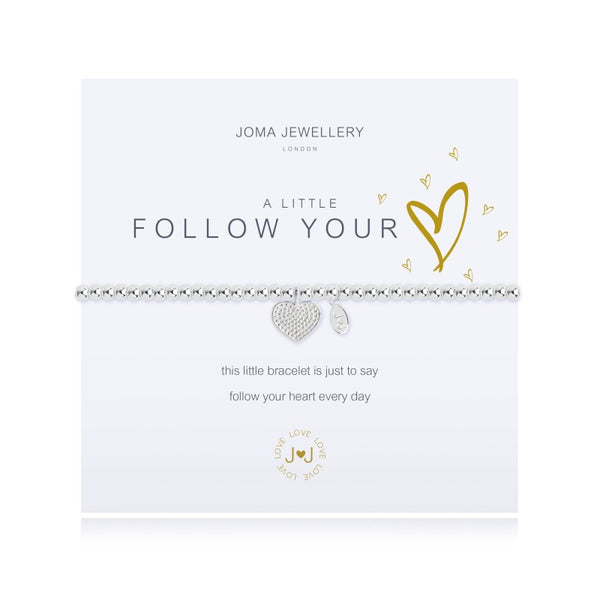 Joma Jewellery A Little Follow Your Heart Bracelet