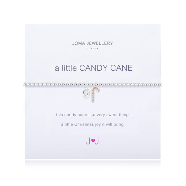 Joma Jewellery A Little Candy Cane Bracelet