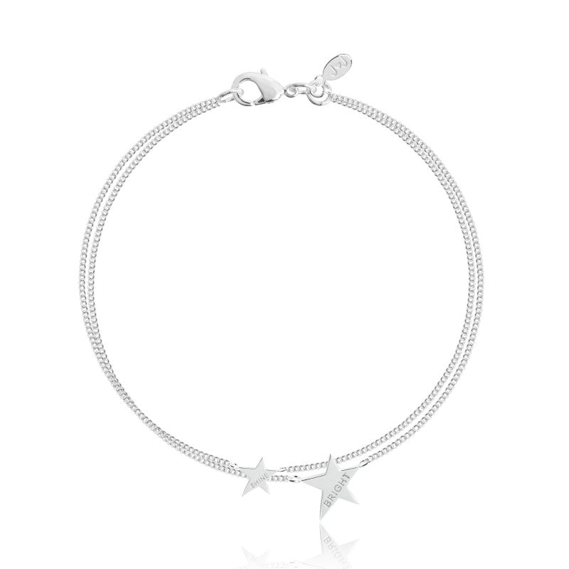 Joma Jewellery Coralie Double Layer Bracelet - Shine Bright