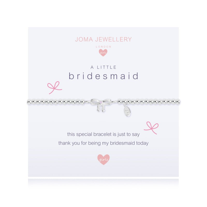 Joma Jewellery Girls A Little Bridesmaid Bracelet