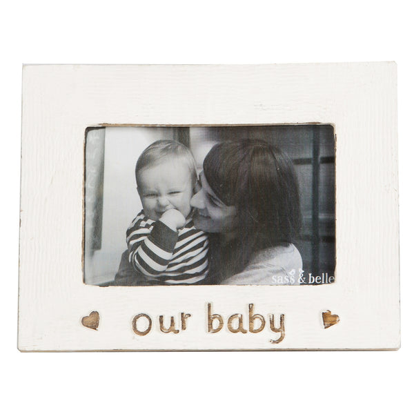 Sass & Belle Our Baby Photo Frame