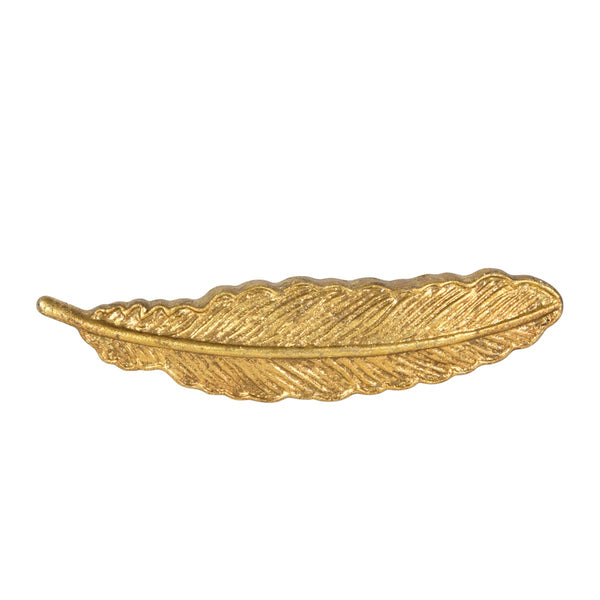 Sass & Belle Golden Feather Vintage Drawer Knob