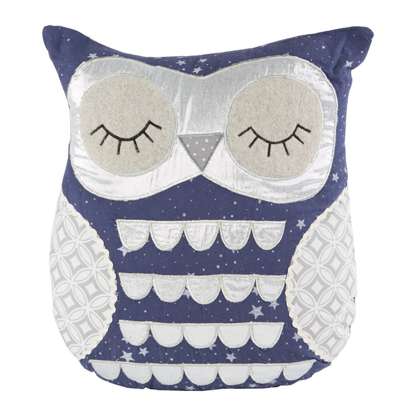 Sass & Belle Lucas Sleepy Owl Cushion