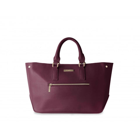 Katie Loxton Adalie Day Bag - Burgundy