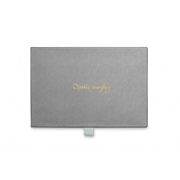 Katie Loxton Jewellery Box - Sparkle Everyday (Metallic Charcoal)