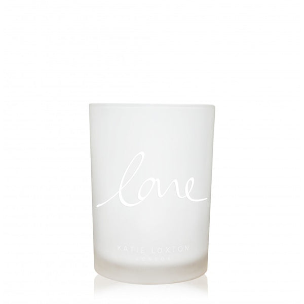 Katie Loxton Love Candle (Fig & Apple Blossom)