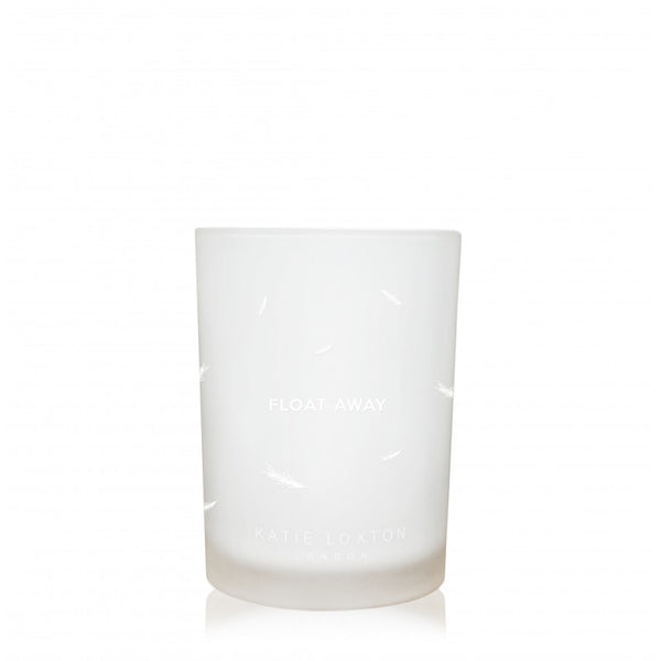 Katie Loxton Float Away Candle (Rock Rose & Orange Flower)