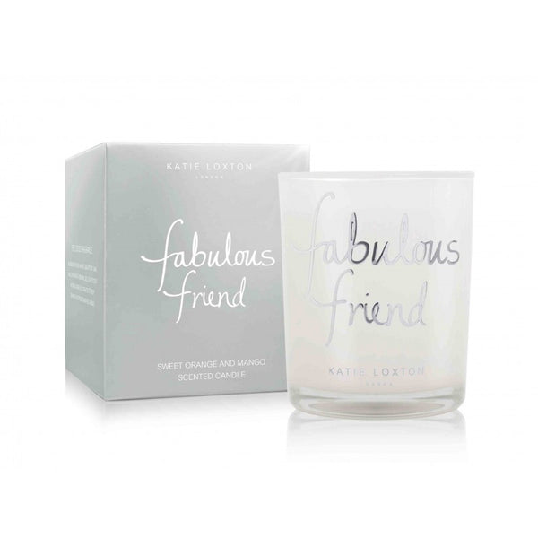 Katie Loxton Fabulous Friend Small Jar Candle (Sweet Orange & Mango)